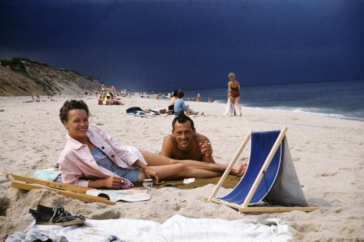 Through Nene's Eyes Betty and Tud Cape Cod, 1950's