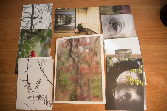 Interactive Photobook with postcards