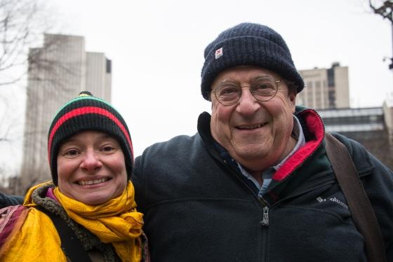 Maria Wulf and Jon Katz