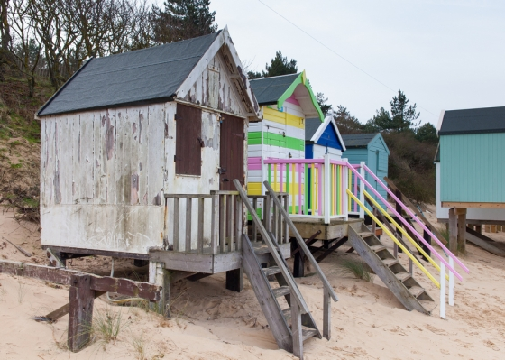 Beach Huts, Wells-next-the-Sea Keith Osborn