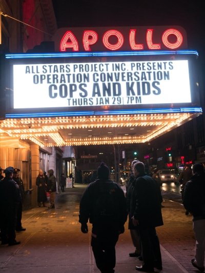 Operation Conversation at the Apollo Theater