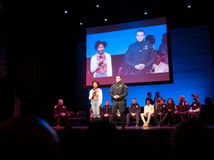 Cops and Kids perform at the Apollo