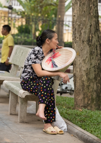 Contemplation Hanoi, 2015 Cathy Stewart