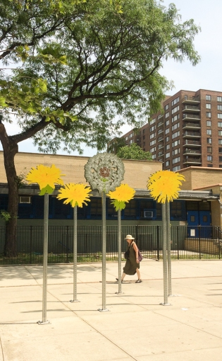 Among the Concrete Dandelions Upper West Side Cathy L. Stewart