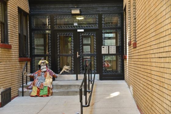Greeter on West 111th Street, Harlem Cathy Stewart