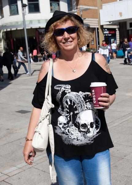 Woman with Coffee, King's Lynn Keith Osborn
