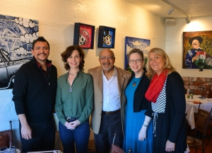 Independent Voters for Arizona and Independent Voting activists: Tim Castro, Jackie Salit, President of Independent Voting; Jim Morrison; myself and Kim Wright